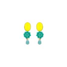 BO Diva turquoise jaune
