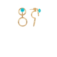 BO Little rose turquoise or