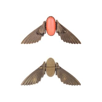 broche-bestiaire-insecte-saumon-65e