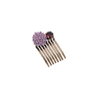 Peigne violet prune 24E