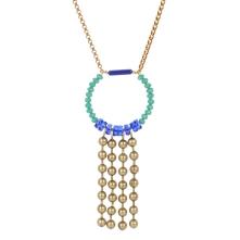 Sautoir Rosie turquoise
