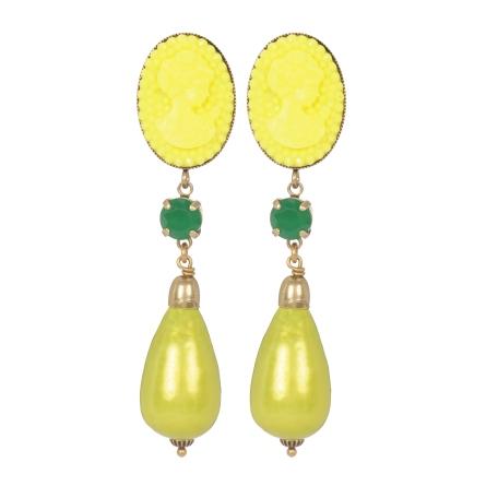 BO Perry baroque anis-jaune